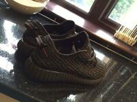 Adidas - Pirate black Yeezy boost 350's - UK size 9