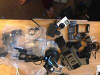 GoPro hero with loads of accessories ( brand new condition)