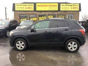 """2015 Chevrolet Trax """"RATES AS LOW AS 3.69%0AC"""" APPLY NOW"""