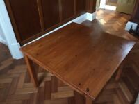 Table - suitable as coffee table or TV table