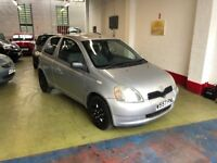 TOYOTA YARIS 1.0VVTI 16V GS, 2000, 29343 GENUINE MILES , 1 OWNER FROM NEW. 12 MONTH MOT