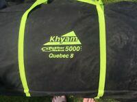 Khyam Quebec8 Family Tent & Sun Porch
