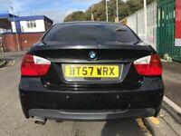 2007 (57 reg) BMW 3 Series 2.0 320d M Sport 4dr Saloon Turbo Diesel 6 Speed Manual