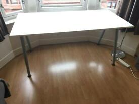 Ikea Thyge white desk RRP £79
