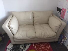 DFS 3 & 2 seater leather Sofa