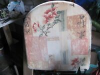 cane furniture cushions hardly used like new