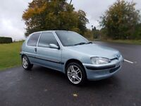 2003 03 PEUGEOT 106 1.1 INDEPENDENCE LIMITED EDITION 3 DOOR MOT OCTOBER 2017