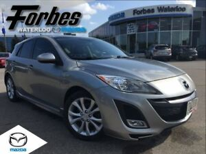 2011 Mazda MAZDA3 SPORT GT Leather, Sunroof, HEated Seats