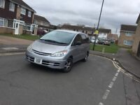 LPG Gas 2002 8 seater Toyota Estima Silver Automatic Very Good Runner