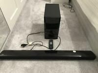 LG Sound Bar Audio with Subwoofer and Bluetooth