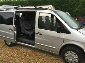 Mercedes Vito Silver 7Seater In great condition with 12 months MOT- Back on sale due to time waster