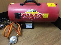 Clarke Devil 900 Space Heater