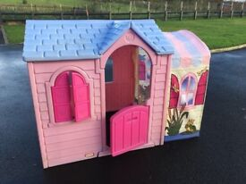 Little Tikes pink play house