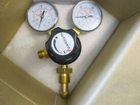 Mig Welding Gas Regulator for Argon / co2 Gas - NEW