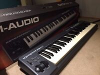 M-AUDIO KEYSTATION 61, GOOD CONDITION, ORIGINAL PACKAGING, ALL INCLUDED