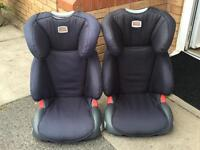 x2 Britax Booster Seats