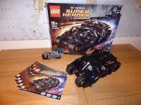 LEGO UCS DC COMICS BATMAN TUMBLER 76023 (USED)