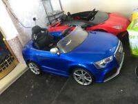 Kids Audi RS5 ride on car