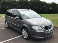 2009 VW Touran 2.0 TDI Sport DSG Xenons Fsh Heated Leather