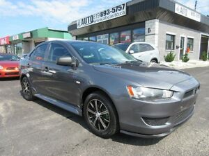 2011 Mitsubishi Lancer Mag Wheels, Automatic, Spoiler, Tinted wi
