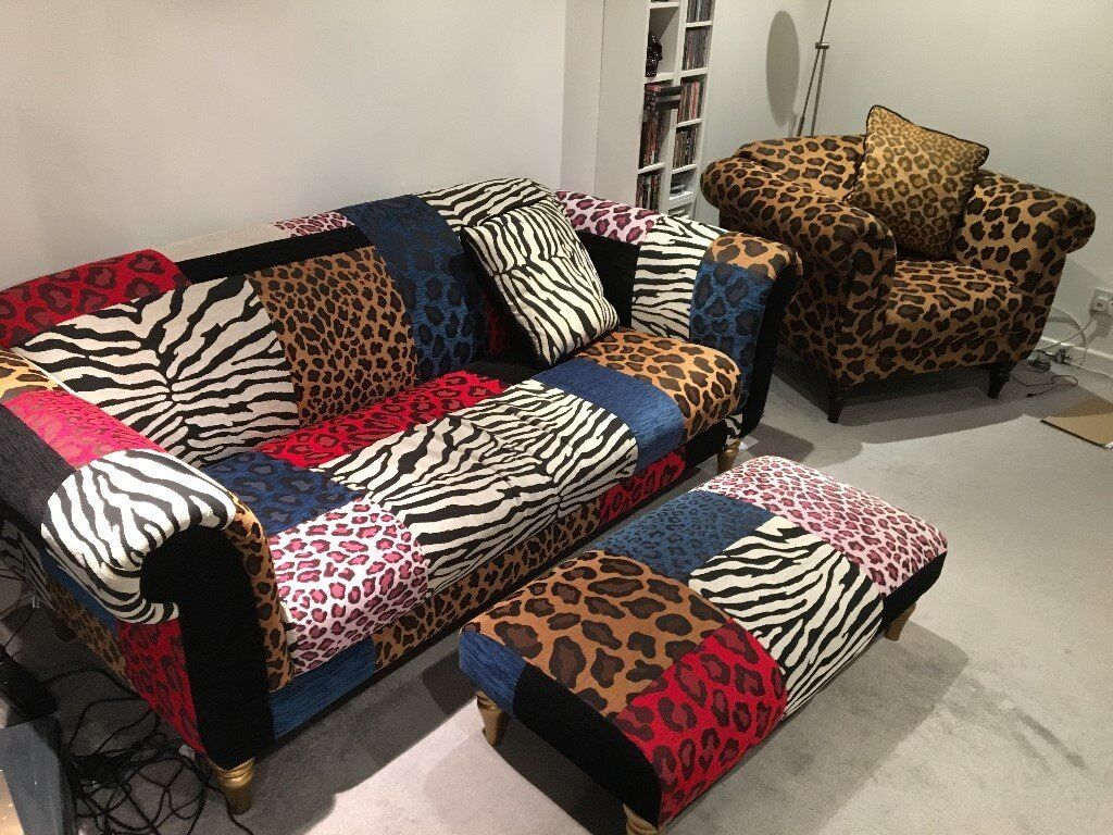 Leopard Print Sofa Animal Print Chesterfield Sofa Thesofa