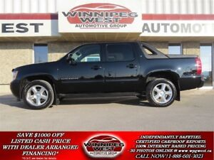 2011 Chevrolet Avalanche 1500 LT CREW 4X4, LOADED 1-OWNER MB TRU
