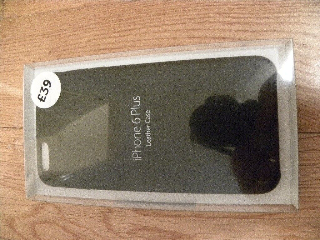 iphone 6plus leather case new and unopened box