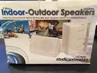 Studio Acoustics 100W Outdoor Speakers
