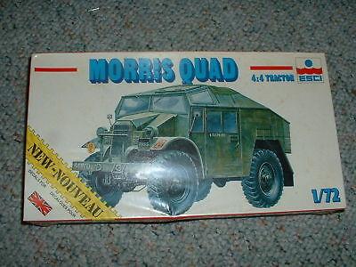 (Esci HO 1/72 #8321 Morris Quad 4x4 Tractor)