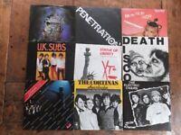 "18 x 7"" Rare PUNK Vinyl Singles The Damned Stranglers UK Subs XTC PIL Sham 69"