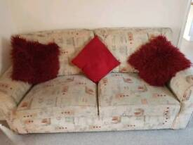 3 seater sofa and 2 seater sofabed
