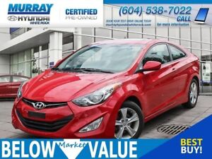 2013 Hyundai Elantra GLS**SUNROOF**HEATED SEATS**BLUETOOTH**