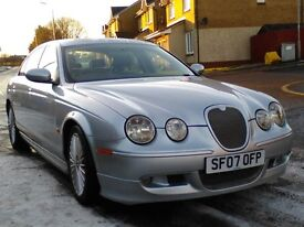RARE JAGUAR S-TYPE XS 2.7D WITH FACTORY FITTED BODYKIT JUST MOT'D