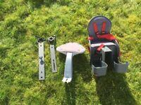 Weeride safe front child bike seat
