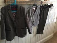 Boys 5 piece suit monsoon age 10