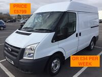 2011 FORD TRANSIT T260 FWD / NEW MOT / PX WELCOME / NO VAT / FINANCE AVAILABLE / WE DELIVER