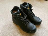 CAT srx steel toe cap safety boots