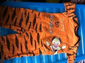 3-6 months old baby boy pjs