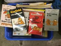 Garfield 50 books and annuals job lot