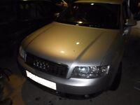 2001 Audi A4 B6 1.9TDI AVB Saloon Manual BREAKING FOR PARTS SPARES