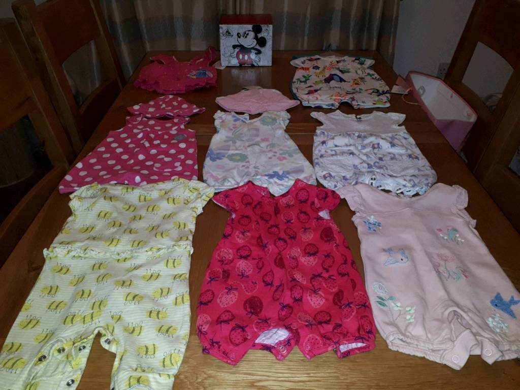 Baby Next Girls Summer Romper Size Up To 3 Months Babygrows & Playsuits