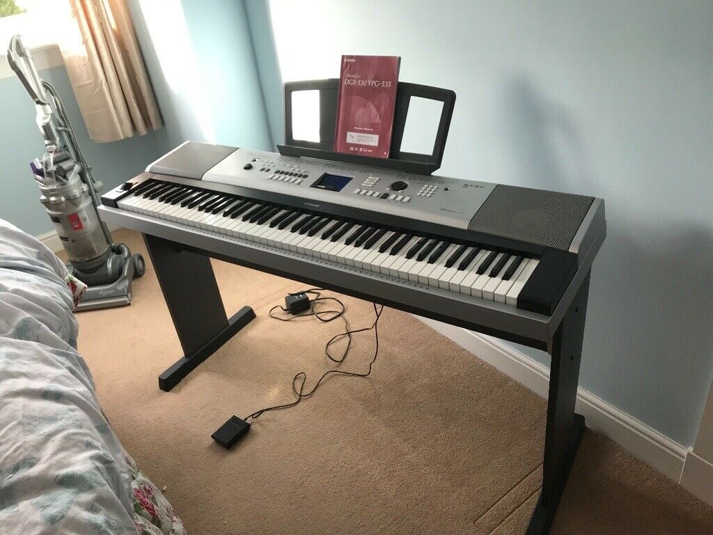 Yamaha Portable Grand DGX 530/ YPG-535 88 keys | in Lanark, South  Lanarkshire | Gumtree