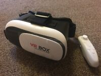 ONLY £15!!! 3D VR SET WITH REMOTE.