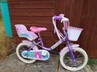"Sunbeam Mermaid 14"" Girl's Bike"