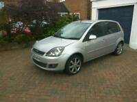 Ford Fiesta Zetec Blue. Very low mileage. Excellent condition