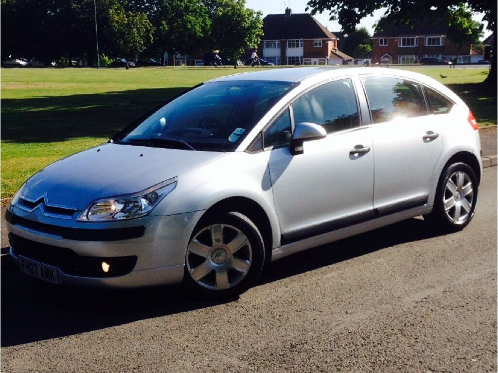 citroen c4 1 6 i 16v sx 5dr auto silver 2007 in birmingham west midlands gumtree. Black Bedroom Furniture Sets. Home Design Ideas