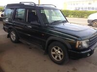Landrover discovery td5, 52 reg, mot october, 140k miles, good condition £2195