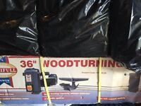 Faithfull wood turning lathe