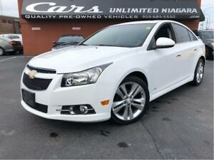 2012 Chevrolet Cruze LTZ Turbo | 1 OWNER | ROOF/LEATHER/NO ACCID