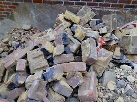 Free hardcore / bricks / rubbles - free from Kingswood KT20